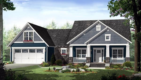 Country Craftsman Home Plans Of Country Craftsman House Plan Family Home Plans Blog