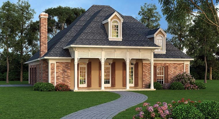 Small luxury house plan family home plans blog for Familyhomeplans 75137