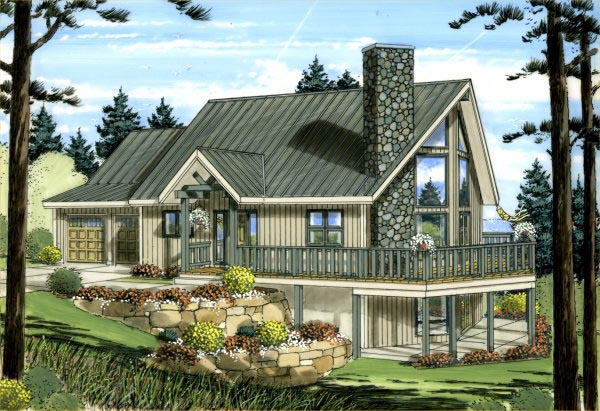 Best selling a frame house plans family home plans blog for A frame house blueprints