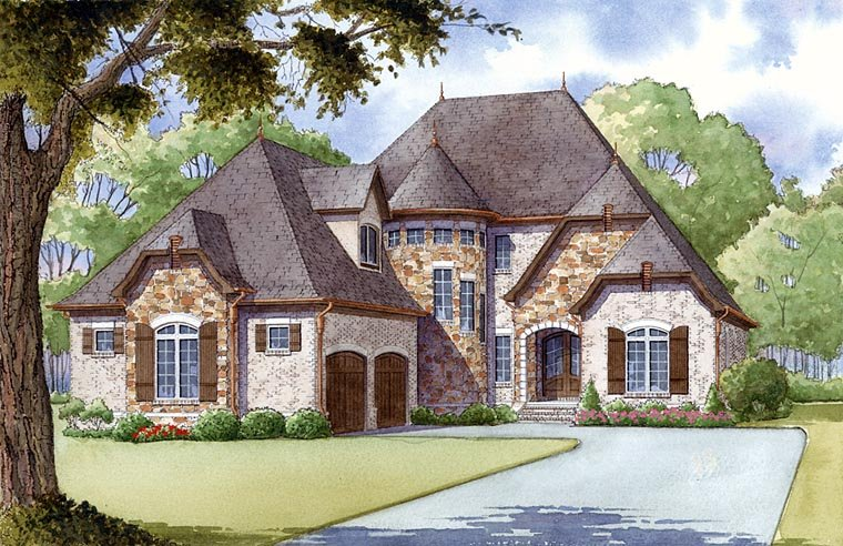 New french country house plan family home plans blog for French country house plans open floor plan
