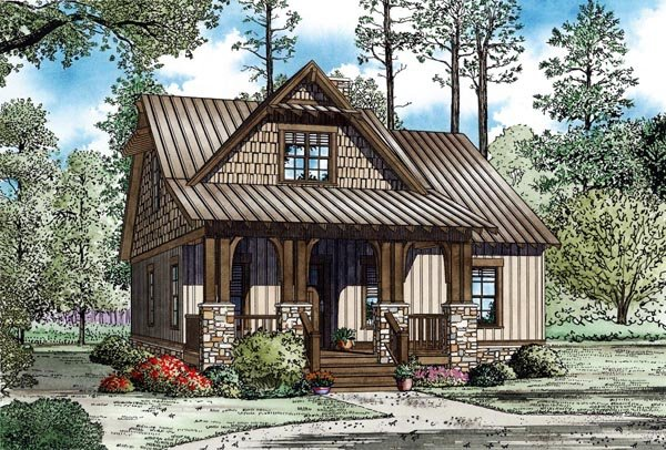 New Starter Home Plans Under 1500 Square Feet