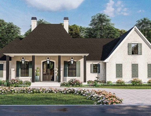 4 Bedroom Acadian Style House Plan