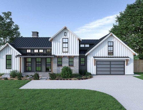 Modern Farmhouse Plan With Pictures